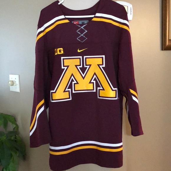 reputable site e937b 53c6e Minnesota Gophers Hockey Jersey